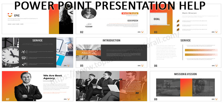 unique powerpoint presentation help for your college presentation